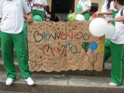 BIENVENIDA DE CHAMITO
